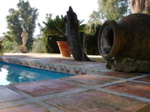 pool pot yurt