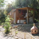 Yurt holiday Spain kitchen